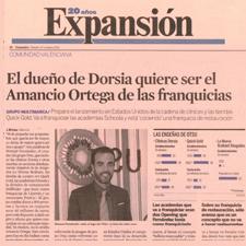 El dueño de Dorsia quiere ser el Amancio Ortega de las Franquicias